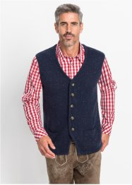 Gilet tradizionale in maglia regular fit, bpc selection