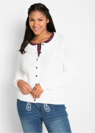 Cardigan a trecce, bpc bonprix collection