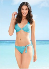 Bikini in materiale riciclato con ferretto, bpc bonprix collection