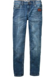 Jeans in felpa slim fit, John Baner JEANSWEAR