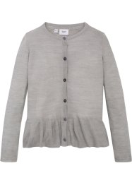 Cardigan con volant, bpc bonprix collection