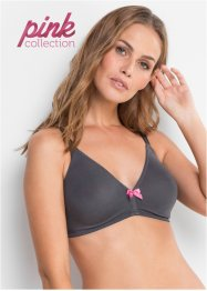 Reggiseno in cotone biologico Pink Collection (pacco da 2), bpc bonprix collection