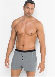 Boxer largo in jersey (pacco da 3), bpc bonprix collection