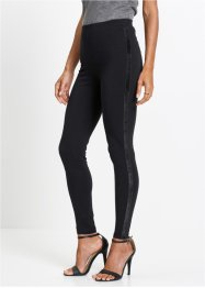 Leggings con bande in velluto, bpc selection