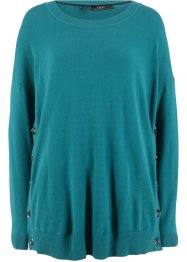 Pullover con bottoni, bpc bonprix collection
