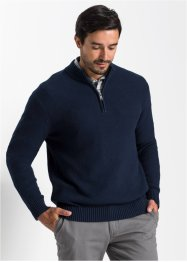 Pullover con cerniera regular fit, bpc bonprix collection
