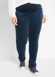 Pantalone in velluto elasticizzato con inserti, bpc bonprix collection