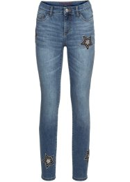 Jeans con stelle applicate, BODYFLIRT