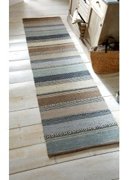 Tappeto kilim a righe in colori naturali delicati, bpc living bonprix collection