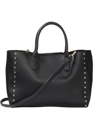 Borsa shopper con borchie, bpc bonprix collection