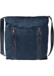 Borsa a tracolla con cerniere, bpc bonprix collection