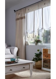 Tenda a pacchetto in cotone biologico con cuori, bpc living bonprix collection