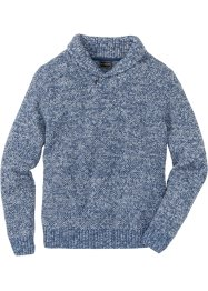 Pullover con collo a scialle regular fit, bpc selection