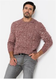Pullover a trecce regular fit, bpc bonprix collection