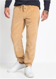 Pantalone in velluto senza chiusura regular fit straight, RAINBOW