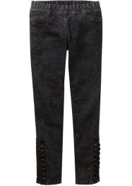 Jeggings con stringature al fondo, John Baner JEANSWEAR