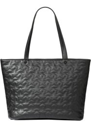 Borsa shopper con stelle trapuntate, bpc bonprix collection