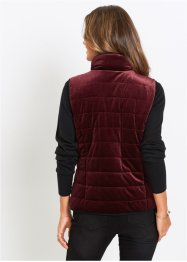 Gilet trapuntato in velluto, bpc selection