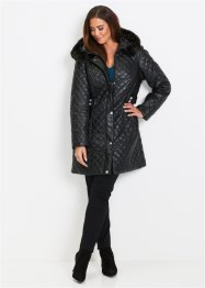 Cappotto trapuntato in similpelle, bpc selection premium