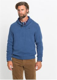 Pullover con collo a scialle, bpc selection