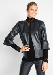 Blazer in similpelle Maite Kelly, bpc bonprix collection