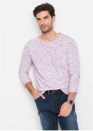 Maglia melange a manica lunga regular fit, bpc bonprix collection