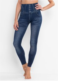 Leggings effetto jeans, modellante senza cuciture, bpc bonprix collection