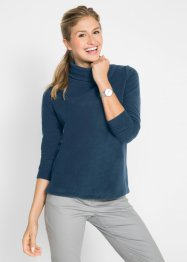 Maglia in pile a collo alto, bpc bonprix collection