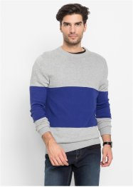 Pullover con scollo rotondo regular fit, bpc bonprix collection