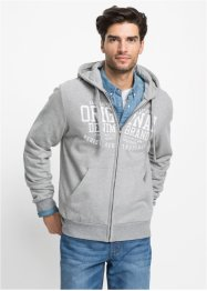 Giacca in felpa con cappuccio regular fit, John Baner JEANSWEAR