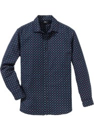 Camicia a manica lunga in microfantasia, bpc bonprix collection
