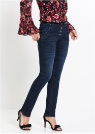 Jeans con bottoni decorati, bpc selection premium