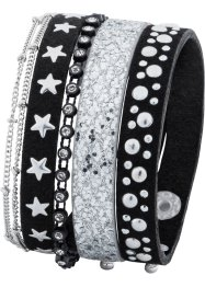 Set di bracciali (set 5 pezzi), bpc bonprix collection