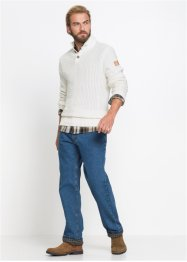Jeans termici classic fit straight, John Baner JEANSWEAR