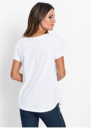 T-shirt con taschino in velluto, bpc selection