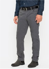 Pantalone termico in twill elasticizzato regular fit, bpc selection