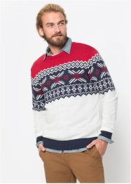 Pullover in stile norvegese regular fit, bpc bonprix collection