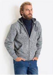 Giacca in felpa con pellicciotto sintetico regular fit, bpc bonprix collection
