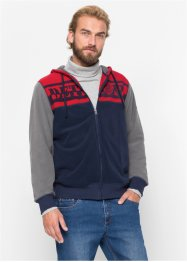 Giacca in pile con cappuccio regular fit, bpc bonprix collection