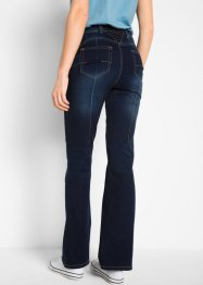 Jeans push-up superstretch con cinta comfort bootcut, bpc bonprix collection