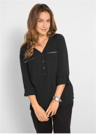 Camicia in viscosa a manica lunga, bpc bonprix collection
