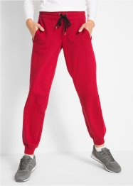 Pantalone in felpa con bande in velluto livello 1, bpc bonprix collection