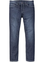 Jeans con impunture a contrasto slim fit straight, RAINBOW