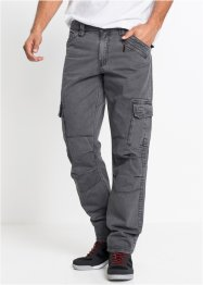 Pantalone cargo loose fit straight, RAINBOW