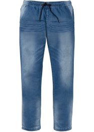 Jeans in felpa regular fit straight, John Baner JEANSWEAR