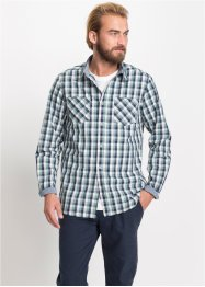 Camicia a quadri a manica lunga, bpc bonprix collection