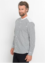 Camicia a righe a manica lunga, bpc selection