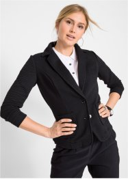 Blazer in felpa operata, bpc bonprix collection