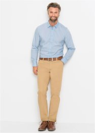 Camicia elasticizzata slim fit, bpc selection