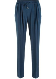 Pantalone con pinces senza chiusura, bpc bonprix collection